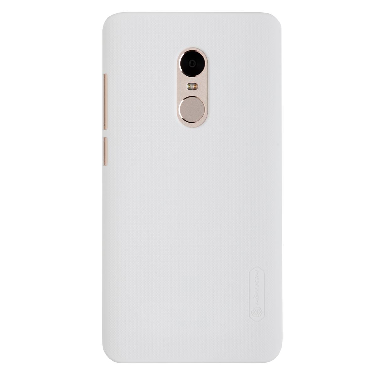 Купить Чехол для Redmi Note 4 бампер пластиковый Nillkin (Белый)