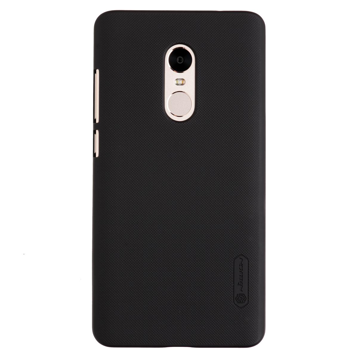 Купить Чехол для Redmi Note 4 бампер пластиковый Nillkin (Черный)