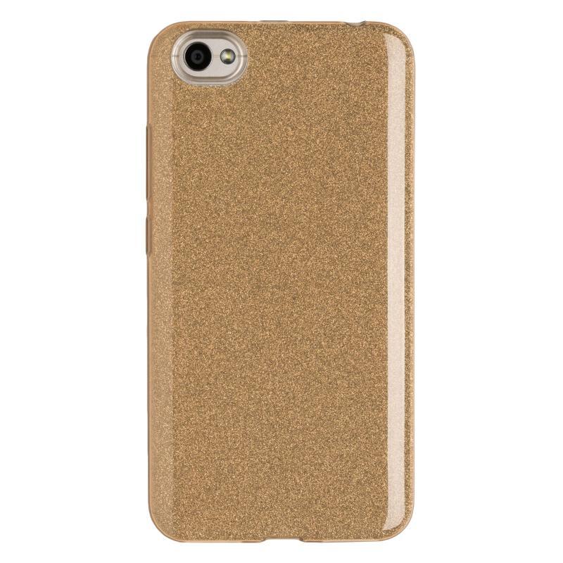 Купить Чехол для Redmi Note 5A бампер JZZS Shine (Золотой)