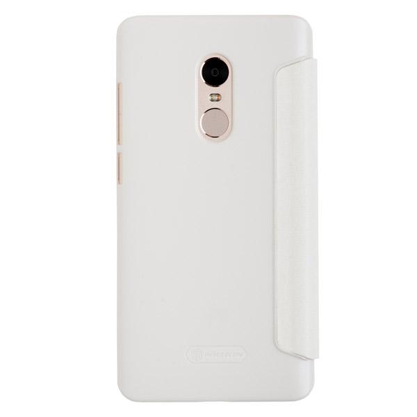 Купить Чехол для Redmi Note 4 книжкой Nillkin (Белый)