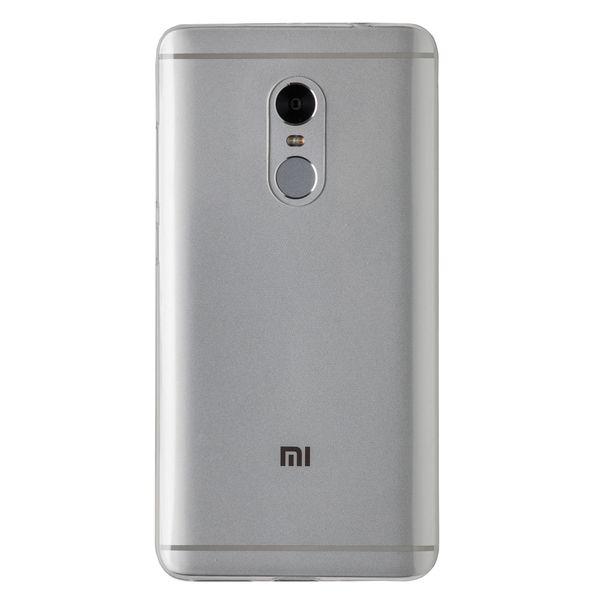 Купить Силиконовый чехол для Redmi Note 4 (Светлый), Xiaomi