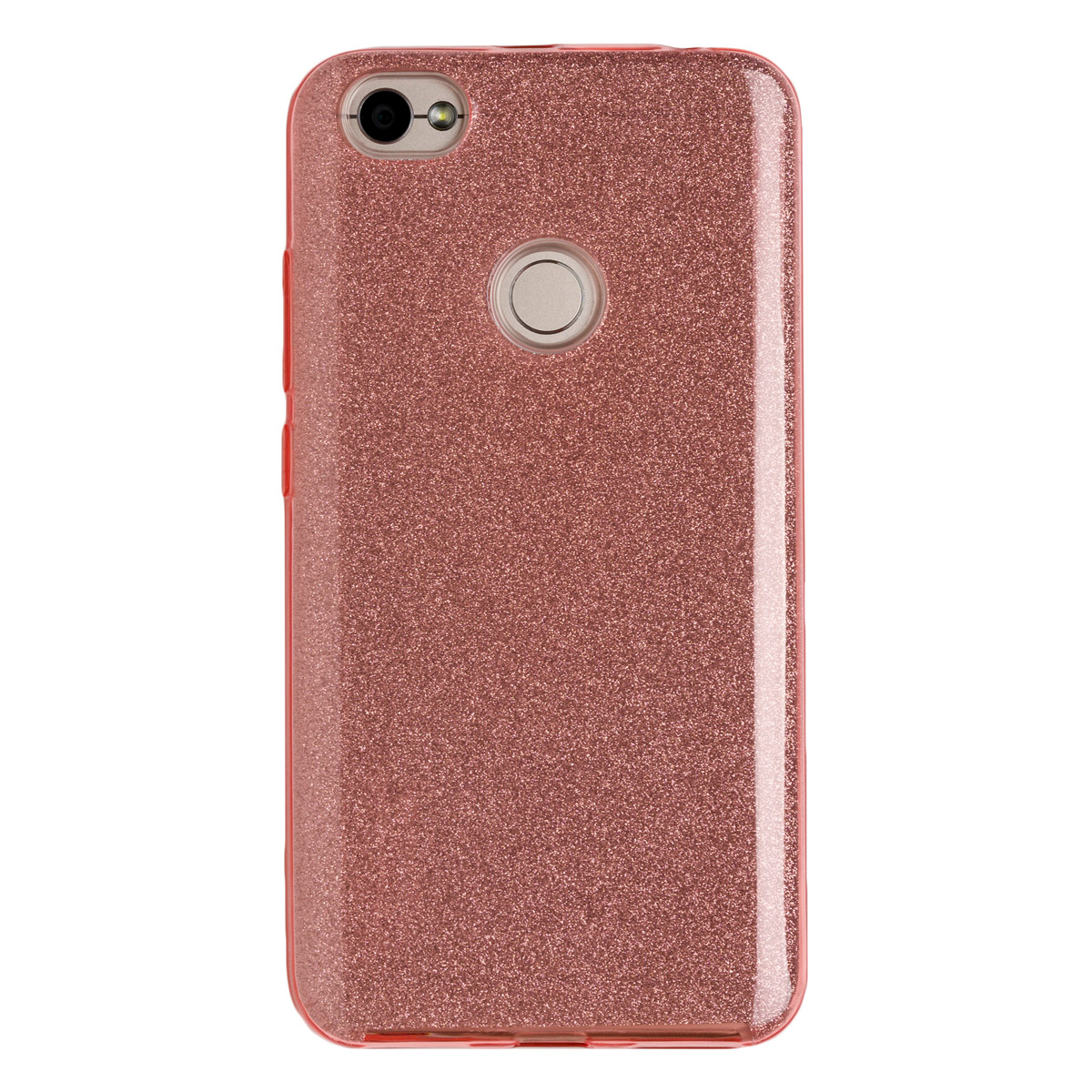 Купить Силиконовый чехол для Redmi Note 5As Experts Diamond (Розовый)