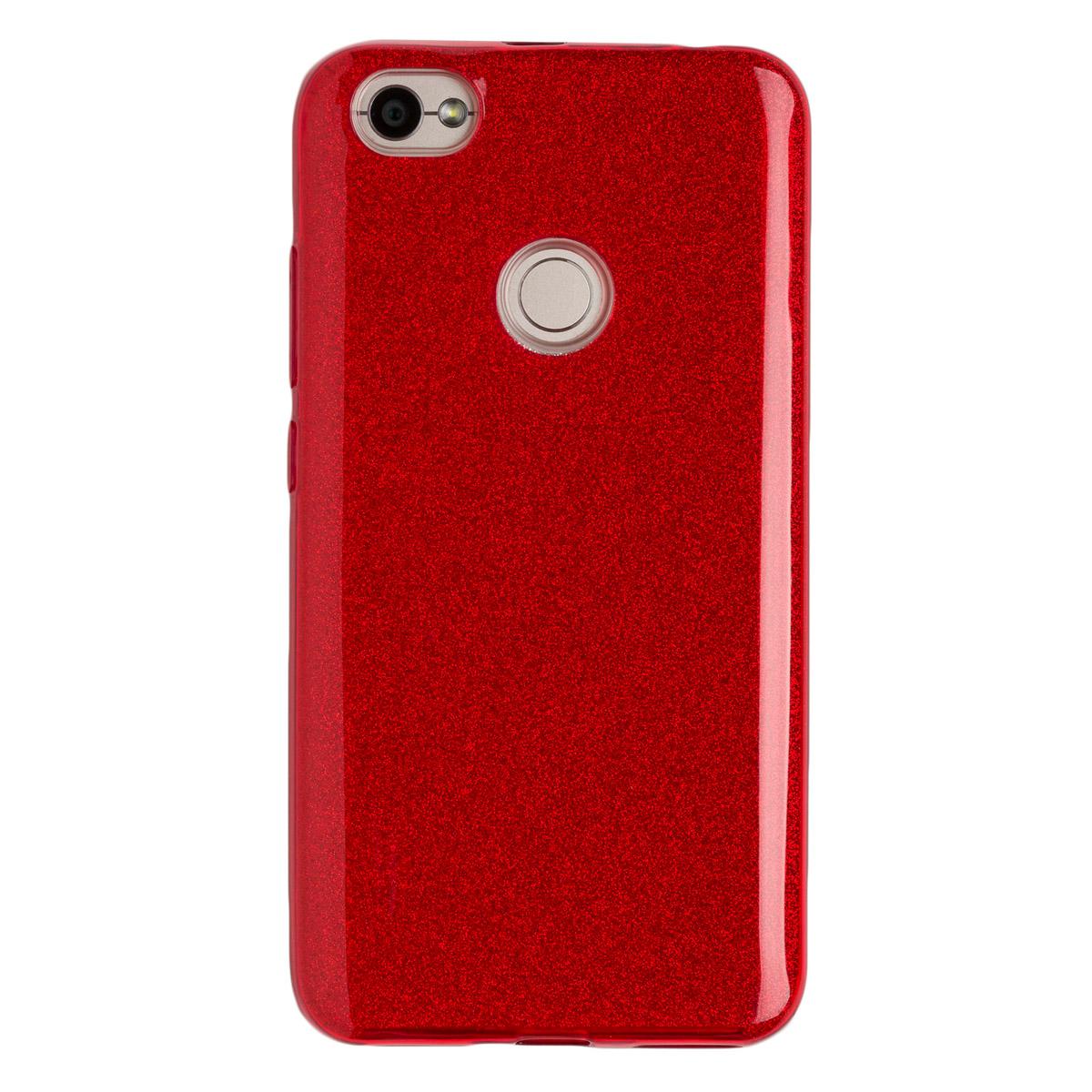 Купить Силиконовый чехол для Redmi Note 5As Experts Diamond (Красный)