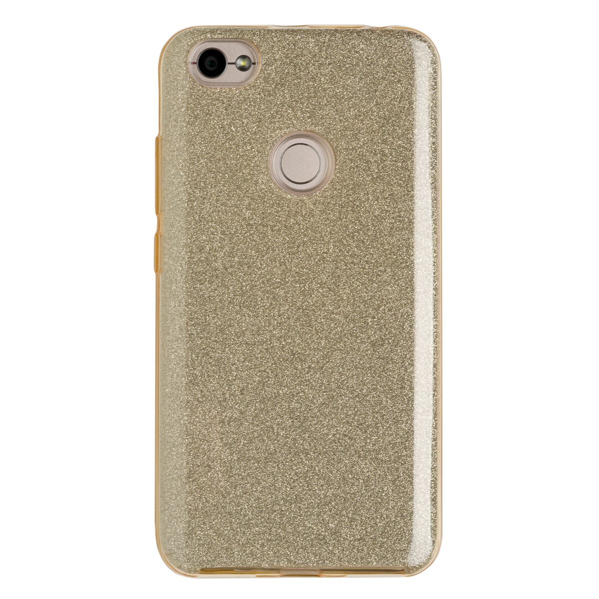 Купить Силиконовый чехол для Redmi Note 5As Experts Diamond (Золотой)