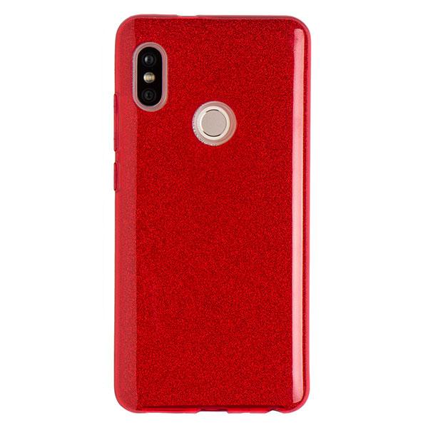 Купить Силиконовый чехол для Redmi Note 5 Experts Diamond (Красный)
